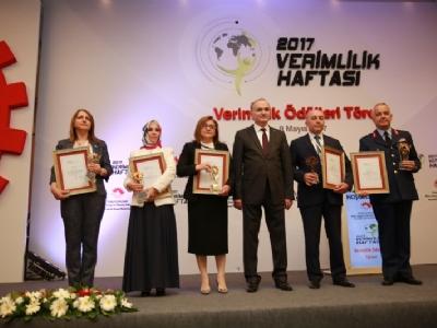 İstanbul Görme Engelliler Bilgi Merkezi Projesi'ne Verimlilik Ödülü