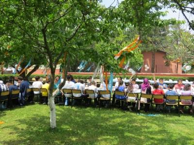 Veysel Vardal Görme Engelliler Okulu ögrencilerinin mezuniyet töreni