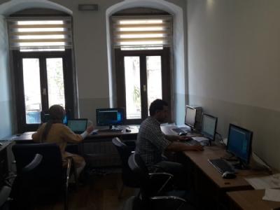Proje kapsaminda kütüphanemize satin alinan bilgisayarlar