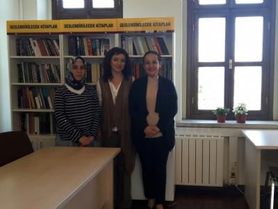 Vatandaslarimizin kütüphanemizi ziyareti