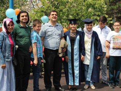 Veysel Vardal Görme Engelliler Okulu mezuniyet töreninden kareler