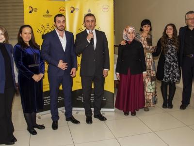 Kütüphane ve Müzeler Müdürü Ramazan Minder, Müdür Yardimcisi Ramazan Elmas ve Proje Ekibi